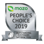 Mozo People's Choice Award 2019 outstanding customer satisfaction for car insurance